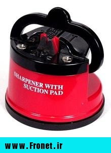 sharpener with suction pad